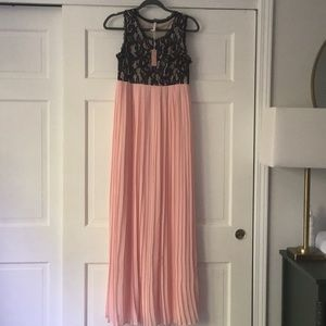 NWT Pink Blush formal gown
